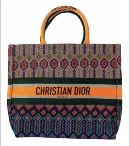 CHRISTIAN DIOR BOOK TOTE COLORIDA