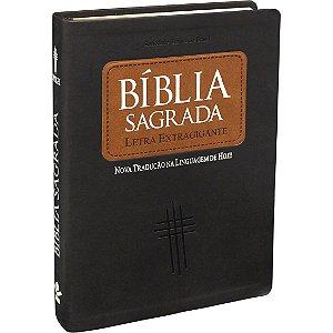 Bíblia Sagrada Letra Extra Gigante Linguagem de hoje