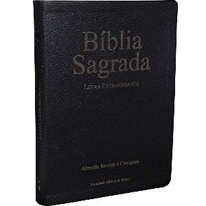 BÍBLIA SAGRADA LETRA EXTRAGIGANTE CAPA LUXO SBB