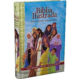 Bíblia Ilustrada 365 Histórias Crianças Jovens Adultos