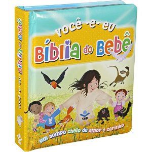 A Bíblia Do Bebê - Capa Dura Ilustrada Almofadada