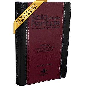 Bíblia De Estudo Plenitude Com Índice Revista e Corrigida