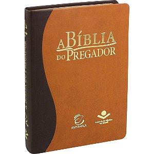 Bíblia Do Pregador Média com  1.867 Esboços Sermões