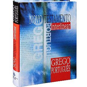Novo Testamento Interlinear - Grego Português Sbb