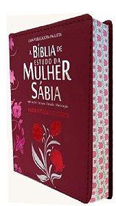 Bíblia De Estudo Da Mulher Sábia Letra Grande Harpa