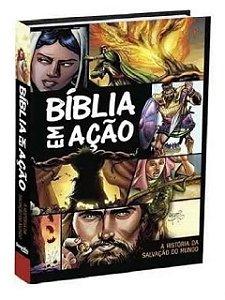 Bíblia Em Ação Quadrinhos Capa Dura Nova Edição Original