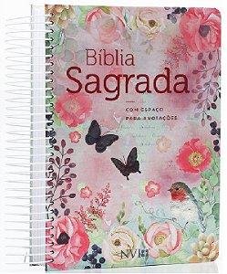 Bíblia Sagrada Feminina Com Espiral Com Espaço P/ Anotações
