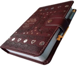 Bíblia Feminina Tipo Carteira Com Harpa- Bordô