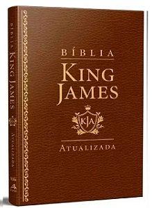 Bíblia King James Atualizada Slim Luxo- Marrom