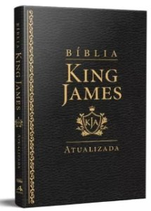 Bíblia King James Atualizada Slim Luxo- Preta