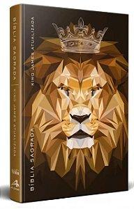 Bíblia King James Atualizada Slim- Marrom