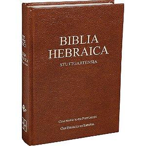 Bíblia Hebraica Stuttgartensia 5@ Ed Línguas Originais