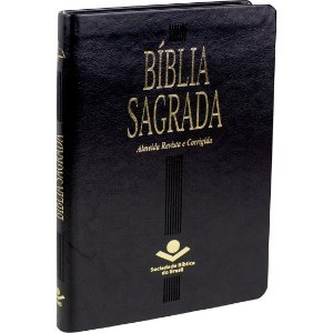 BÍBLIA ULTRA SLIM ALMEIDA CORRIGIDA PRETA