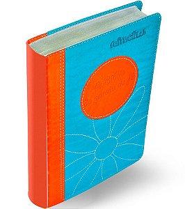 Bíblia Da Garota De Fé Laranja Azul Adolescente Menina