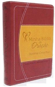 Minha Bíblia De Oração Bíblia De Estudo vinho