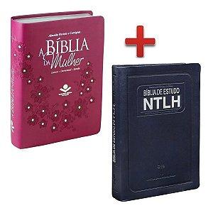 Bíblia Da Mulher + Bíblia De Estudo Ntlh