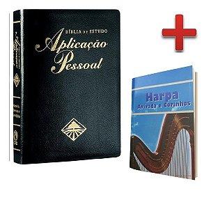 Bíblia De Estudo Aplicação Pessoal Luxo Harpa Grátis