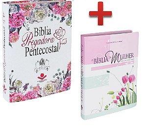 Bíblia Pregadora Pentecostal + Bíblia da Mulher Grande
