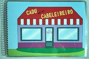 CADU VAI AO CABELEIREIRO