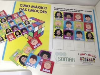 CUBO MÁGICO DAS EMOÇÕES