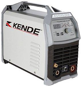 Máquina de solda inversora IGBT TIG-PRO-200AC/DC - KENDE