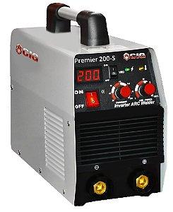 Máquina Inversora Para Solda Portátil Cig Premier 200-s