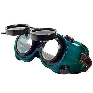 Óculos Maçariqueiro com viseira articulada