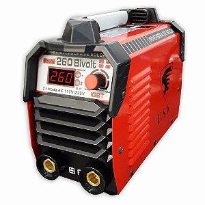 Inversora Para Solda 260 Amperes Mma - Bivolt