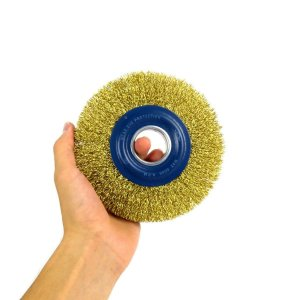 Escova De Aço Circular Diâmetro 6 Pol A. 1/2 Pol - Brasfort