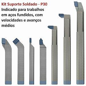 Kit de Suportes Soldados com 7 peças P30