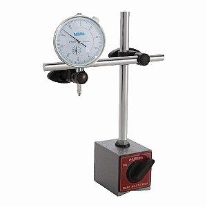 Base Magnética com relógio Comparador - Marberg