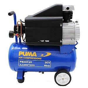 Motocompressor lubrificado portátil