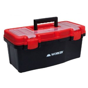 "Caixa de ferramentas plast. 16"" - Worker"