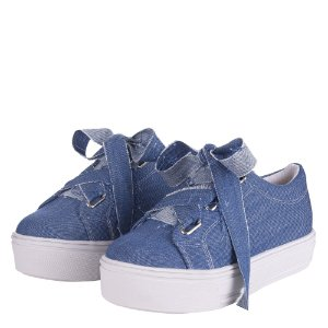 Tenis Louth Plataforma Jeans