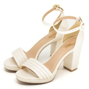 Sandalia Louth Tira Off White