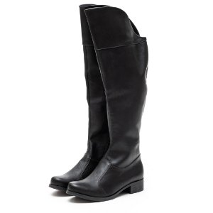Bota Louth Over Preto