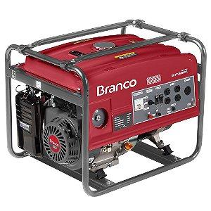Gerador de Energia à Gasolina B4T 6500 13,0CV 5,5KVA Mono com Partida Manual