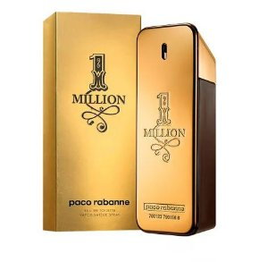 1 Million De Paco Rabanne Eau De Toilette Masculino 100ml