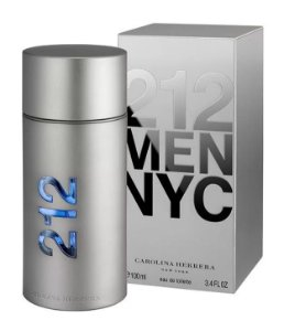 212 Men De Carolina Herrera Eau De Toilette Masculino 100ml
