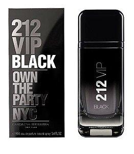 212 VIP Black de Carolina Herrera Masculino Eau de Parfum 100ml