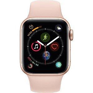 Apple Watch Serie 4 GPS 40mm Caixa de Alumínio Gold com Pulseira Esportiva - Areia Rosa