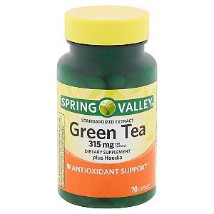 Spring Valley Green Tea 315mg (70 comprimidos)