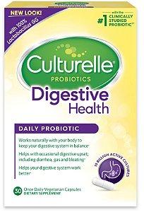 Culturelle Digestive Health Probiotic Capsules (30 cápsulas)