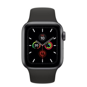 Apple Watch Series 5 40mm GPS + Wi-Fi Bluetooth Esportiva 32GB Resistente à Água