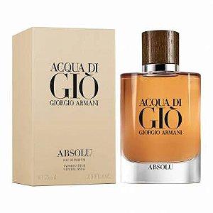 Perfume Giorgio Armani Acqua Di Giò Absolu Masculino Eau de Parfum - 125ml