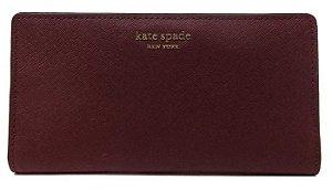 Carteira Kate Spade New York Vinho