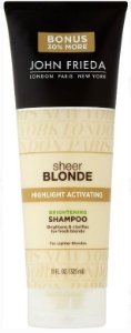 Shampoo John Frieda Sheer Blonde Highlight Activating Brightening 325ml