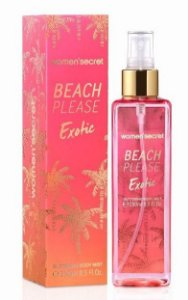 Body Splash Women'Secret Beach Please Exotic 250ml