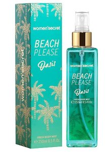 Body Splash Women'Secret Beach Please Oasis 250ml