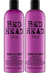 Shampoo e Condicionador Reconstrutor Bed Head Tigi Dumb Blonde 750ml